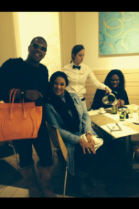 Celebrity Sighting (Miss Lawrence) at Neiman Marcus Cafe'