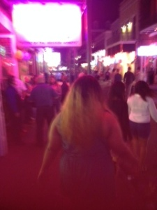 Bourbon Street after Dark