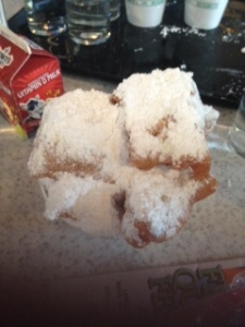Delicious Beignets at Cafe' Dumonde