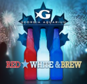 Red White and Brew at the Georgia Aquarium