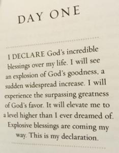 Day 1 Declaration