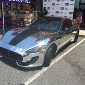Benzino's Chrome Maserati
