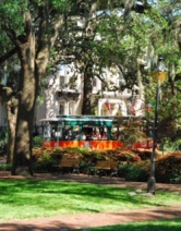 SavannahTrolleyInThePark
